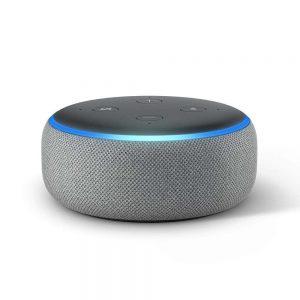 Amazon Alexa speaker for home automation control